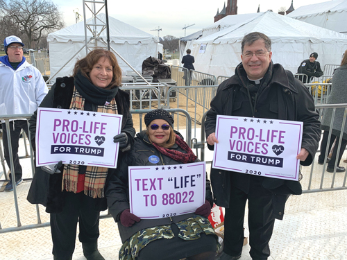 Priests for Life members of the Pro-Life Voices for Trump Advisory Board