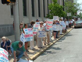Pro Life Vigil for Life Chain