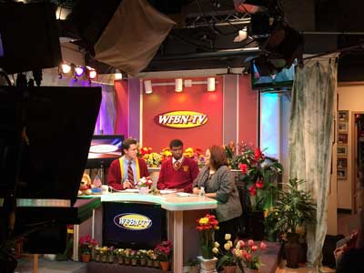 On April 28, 2015, Dr. Alveda King was interviewed by Tom Terzulli and Sedonami Agosa on the set of WFBN, the state-of-the-art television station at Monsignor Farrell High School on Staten Island.
