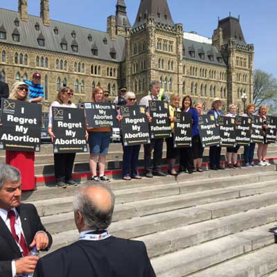 Silent No More on Parliamentary Hill