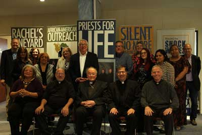 <p><strong>On May 25, Cardinal Renato Martino, president Emeritus of the Pontifical Council for Justice and Peace and a long time friend of Fr. Frank Pavone and Priests for Life, visited the Priests for Life Staten Island, NY headquarters.</strong></p>
