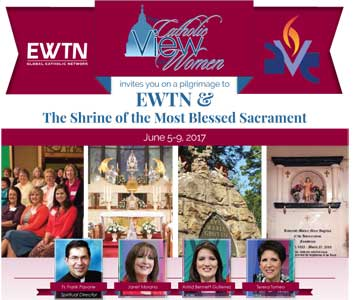 <p>Join Janet Morana and the Co-Hosts of <em>The Catholic View for Women</em> on a Pilgrimage to EWTN June 5-9</p>