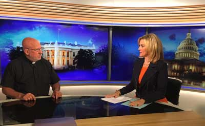 <p>Father Stephen Imbarrato shared his incredible faith journey and his commitment to fight for the unborn tonight on EWTN News Nightly on June 21.</p>