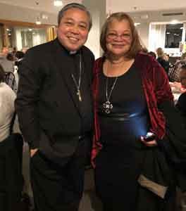 Alveda with Archbishop Bernardito Auza, Apostolic Nuncio, Permanent Observer to the United Nations in NY
