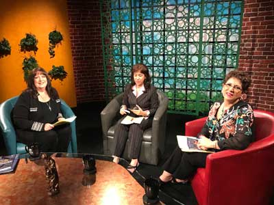 Taping has begun here at EWTN for a new season of the Catholic View for Women!