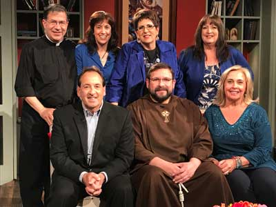 The co-hosts of The Catholic View for Women were interviewed by Jim and Joy Pinto for their EWTN show.