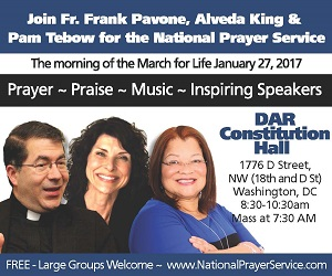 <p>National Prayer Service: January 27, 2017</p>