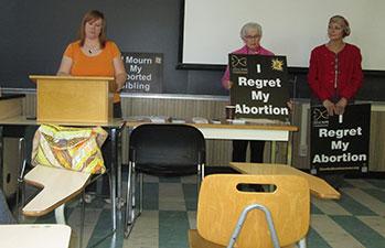 Left to right - Allison Pollard, Anita Sonntag, Nancy Garez