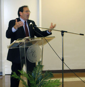 Jim Pinto appeals to Christian leaders in Birmingham, Alabama to unite in the promotion of the Sacredness of Life as expressed in the upcoming Pro-life Freedom Rides.