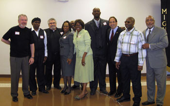 Some of the Pastoral Team that will help host the Freedom Ride Mission in Greater Birmingham.