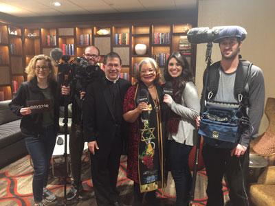 Daystar TV interviewed Fr. Frank and Alveda King