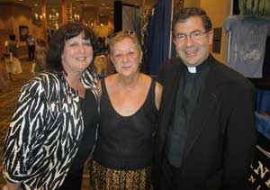 Priests for Life mourns passing of Norma McCorvey. Above: Janet Morana, Norma and Fr. Frank at the 2011 National Right to Life Convention