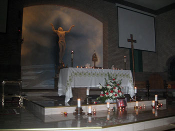 Jesus is Adored in Eucharistic Adoration