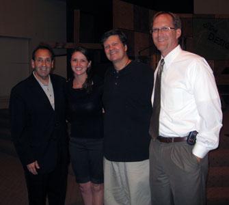 Jim Pinto, MEV, Natalie Farber (Bound 4 Life) Paul Hughes (Birmingham Prayer Furnace) Ronnie Bruce (WDJC Birmingham)