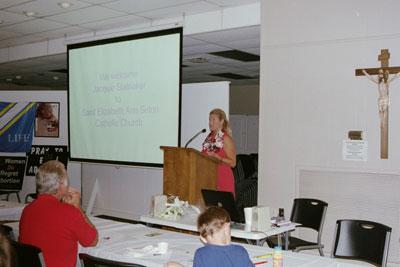Jacquie Stalnaker: Silent No More Awareness Birmingham Regional Coordinator, shares her testimony.