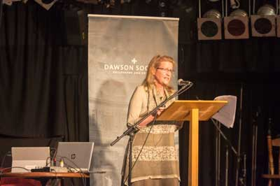 Presenting to the Dawson Society