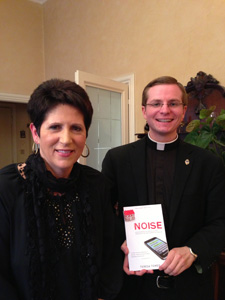 Teresa with newly-ordained Fr. Simon Carian, of the Archdiocese of Santa Fe.