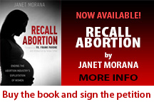 Recall Abortion Book