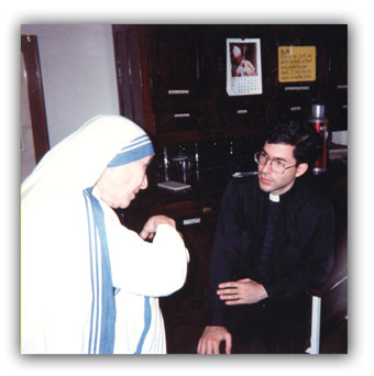 Mother Teresa and Fr. Frank Pavone