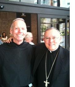 Fr  Denis Wilde, OSA celebrates 50 years of Religious