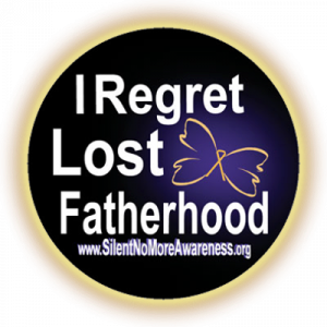 Men regret lost fatherhood