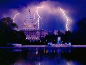 White House Lightening