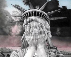 weeping statue-of-liberty