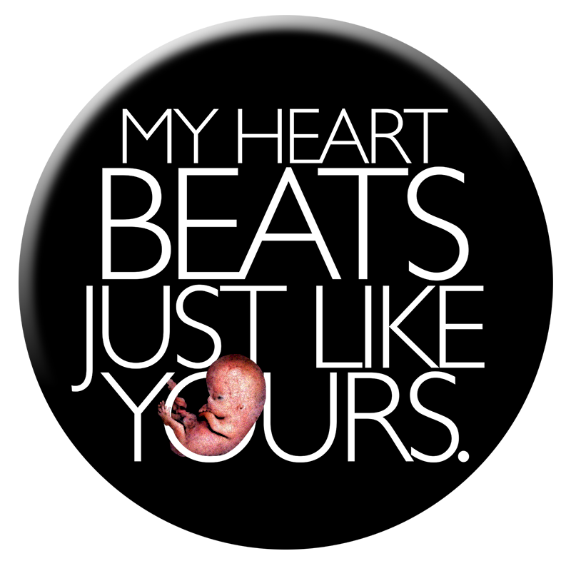 My Heart Beats Just Like Yours button